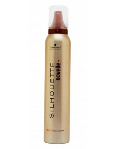 SILHOUETTE NOUVELLE escuma extra fort 200ml Schwarzkopf