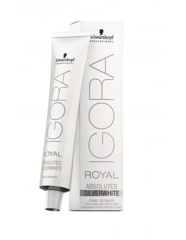 Tint Igora Royal Absolutes Silver White Plata Schwarzkopf
