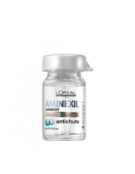 AMINEXIL ADVANCED Anti-caida 10 ampollas 6ml