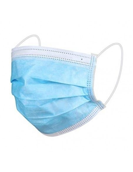 Mascarilla quirúrgica azul 1 unidad